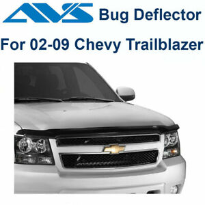 AVS Bugflector Smoke Hood Protector Shield For 02-2009 Chevy Trailblazer - 21643