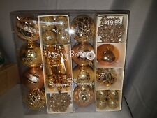 Merry Brite 52 ct. shatter proof ornaments new in box