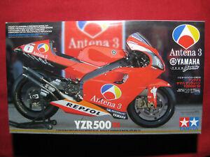 Yamaha YZR500 Antena 3 D'Antin Team 2002 1/12 Tamiya Kit Motorbike Norick Abe