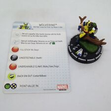 Heroclix Marvel 10th Anniversary set Wolverine (Skrull) #022 Chase figure w/card