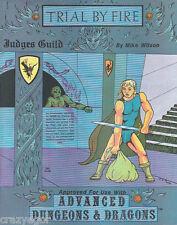 AD&D- Judges Guild- Trial by Fire - mint, shrink D&D *FS