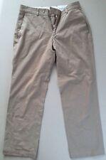 Pantalon Zara Man Homme Marron Taille 38 100% Coton