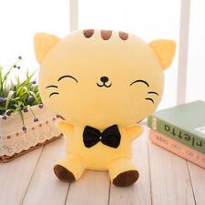 Cute Fortune Cat Kitty Tail Plush Stuffed Soft Doll Cushion Sofa Toy Pillow