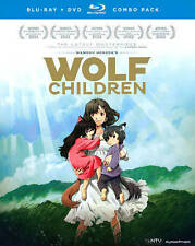 Wolf Children ( Blu-ray + DVD, 2013, 3-Disc Set )