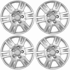 NEW Hub Caps Style 999 Full Wheel Rim Universal Cover Silver 17'' - Set of 4