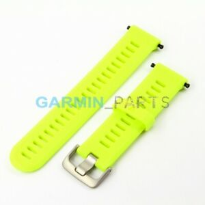 New Silicone band Garmin Forerunner 935 (force yellow) rubber OEM strap