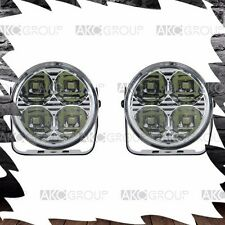"2 x High Performance 3"" Round 4 LED Accent Light Kit For Racing Universal Fit"
