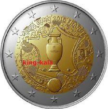 2 euro commemorativo Francia 2016 Coppa UEFA