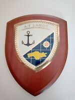 GREECE NAVY - GREEK Boiler Α/Γ ΣΑΜΟΣ COAT OF ARMS HELLENIC NAVY !!!