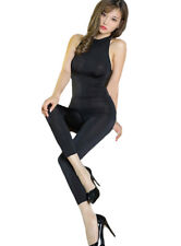 BODY OVERALL HAUTENG SOFT GLANZ BODYSUIT OUVERT SHINY CATSUIT BODYSTOCKING OFFEN