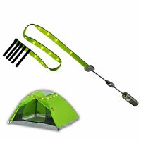 Portable LED Tent Light Emergency Light Flashlight For Camping Hiking Multicolor