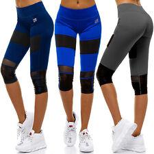 Leggings Shorts Kurze Yoga Kurz Fitness Leggins Jogging Sporthose Damen OZONEE
