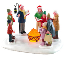 Lemax Christmas Village Toasty Caroling Table Accent #84362 Lighted Decoration