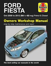 Ford Fiesta 2008 - 2012 Petrol & Diesel Haynes Manual 4907 NEW