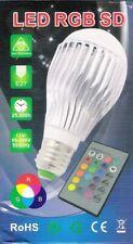 LED RGB SD - Farbwechsellampe - 16 Farben - mit Fernbedienung - E 27