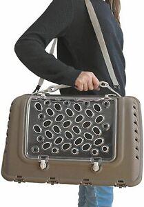 Trasportino borsa borsetta tracolla per trasporto cane e gatti viaggio P-BAG