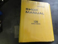 Komatsu 130 Series Engine Shop Manual