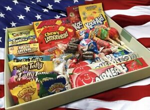 40 PIECE Sweets Box Hamper of American Sweets and Candy