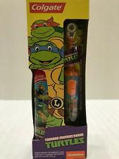 NEW Teenage Mutant Ninja Turtles Colgate Powered Toothbrush Michelangelo
