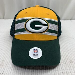 Green Bay Packers Youth Ball Cap Adjustable