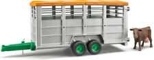 BRUDER 02227 - Livestock Trailer With 1 Cow