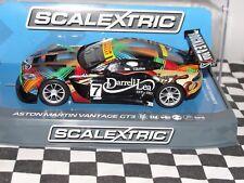 SCALEXTRIC ASTON MARTIN VANTAGE GT3  'DARRELL LEA' #7  C3856  1.32 BNIB