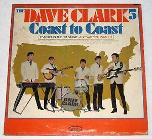 US Pressing THE DAVE CLARK FIVE Coast To Coast LP Record