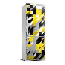 Removable Refrigerator Wall Sticker Magnet Decor Modern Geometric background