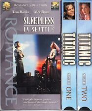Sleepless in Seattle & Titanic - 2 Romance VHS Tapes