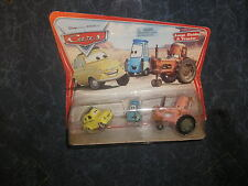 New Disney Pixar Cars Diecast Original Luigi, Guido & Tractor