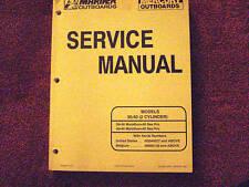 DEALER MANUAL- MARINER / MERCURY SERVICE MANUAL
