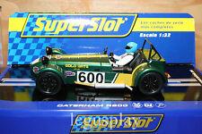 Slot SCX Scalextric Superslot H3309 Caterham R600 Jon Barnes 2013 - New