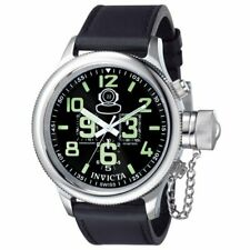 Invicta  Russian Diver 7000  Leather Chronograph  Watch