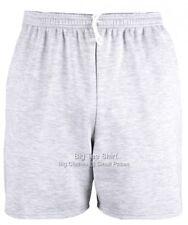 Big Mens Grey Marl  Big Tee Shorts 2xl 3xl 4xl 5xl 6xl 7xl 8xl