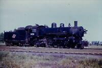 Duplicate Slide Chicago & North Western Railway CNW 126 Alco 4-4-2 Steam Engine
