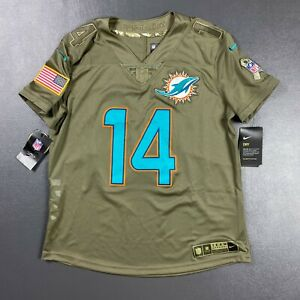100% Authentic Dolphins Jarvis Landry Nike Salute to Service Limited Jersey M