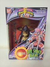 Bandai Mighty Morphin Power Rangers MMPR Guitardo Deluxe Evil Alien Figure 1994