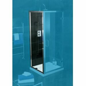 Atlas 900 Side Panel for Shower Enclosure Chrome Frame | RRP: £249 Bathstore