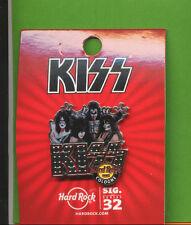 HARD ROCK CAFE KÖLN-COLOGNE-TOLLER FETZIGER PIN KISS-SIG.SERIES 32-in OVP-TOP _