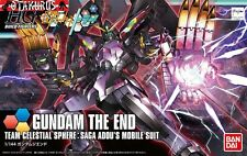 Gundam The End HGBF Build Fighters Try 1/144 Model Figure Bandai