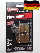 Cylindre porte barillet serrure ABUS EC 850 30/35 haute sécurité maximum 3 clés