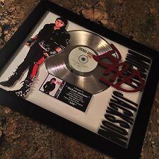 Michael Jackson BAD Platinum Disc Record Album Music Award MTV Grammy RIAA