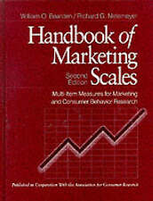 Handbook of Marketing Scales: Multi-Item Measures for Marketing and Consumer Be