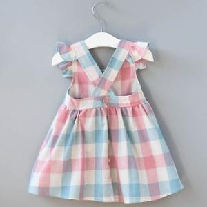 Summer Girls' Dress Korean Strap Sleeveless Party Princess Dress Cute Children's