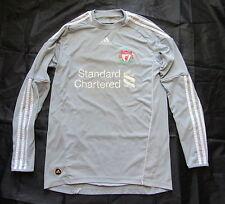 The Reds FC LIVERPOOL goalkeeper jersey by ADIDAS 2010-2012 Grey GK Shirt/men/ S
