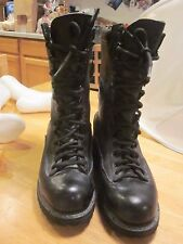 Matterhorn Mens GoreTex Military Combat Work Boots Black Leather 1949 USA Sz 7 M