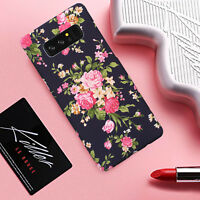Girly Slim Case Rubberized Hard Back Cover For Samsung Galaxy Note 8 S9 S8 Plus