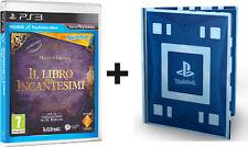 IL LIBRO DEGLI INCANTESIMI + PERIFERICA WONDERBOOK PS3 SONY NUOVO ITALIANO