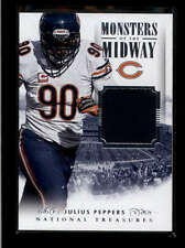 JULIUS PEPPERS 2014 NATIONAL TREASURES MONSTERS OF THE MIDWAY JERSEY #/99 AB8330