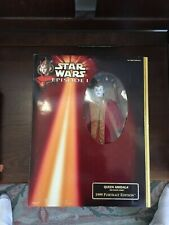 """Star Wars Episode 1 Queen Amidala Red Senate Gown Doll 12"""" Action Figure Tpm"""